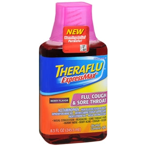 Theraflu Express Max Flu, Cough & Sore Throat
