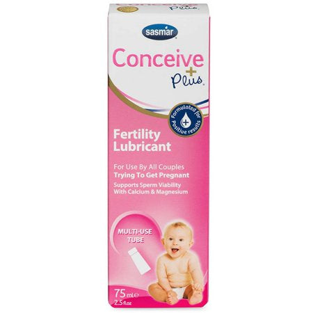 Conceive Plus Fertility Lubricant - Multi Use Tube - 2.5oz