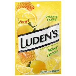 Luden's Honey Lemon Cough Drops