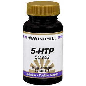 Buy Windmill 5-HTP 50 MG Tablets online used to treat Depression and Mood Health - Medical Conditions