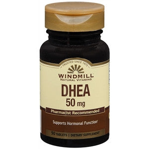 Windmill DHEA 50 MG Tablets