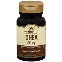 Buy Windmill DHEA 50 MG Tablets online used to treat Depression and Mood Health - Medical Conditions