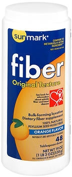 Buy Sunmark Fiber, Original Texture, Orange  Flavor online used to treat Fiber Supplement - Medical Conditions