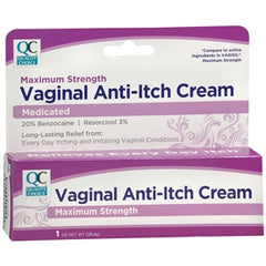 Buy Quality Choice Anti-Itch Vaginal Cream (generic Vagisil) online used to treat vaginal itch cream - Medical Conditions