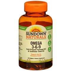 Buy Sundown Naturals Omega 3-6-9 Vegetarian, 50 Softgels online used to treat Heart Health Supplement - Medical Conditions