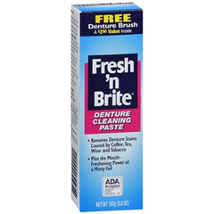 Buy Fresh 'n Brite Denture Cleaning Paste online used to treat Denture Cleanser - Medical Conditions