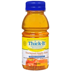 Thick-It AquaCare H2O Apple Juice, Nectar Consistency, 8 oz.