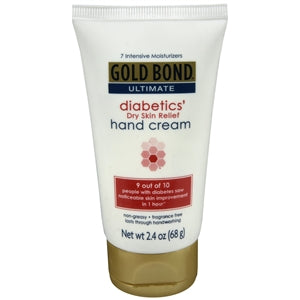 Buy Gold Bond Ultimate Diabetics' Dry Skin Relief Hand Cream online used to treat Diabetic Skin Care - Medical Conditions