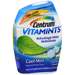 Buy Centrum Vitamints, Cool Mint online used to treat Vitamins, Minerals & Supplements - Medical Conditions