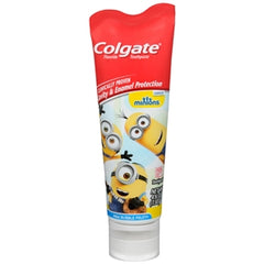 Buy Colgate Minions Fluoride Toothpaste, Mild Bubble Fruit, 4.6 oz. online used to treat Oral Care Products - Medical Conditions