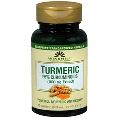 Buy Turmeric by Windmill Natural Vitamins, 95% Curcuminoids, 1000 mg Extract online used to treat Vitamins, Minerals & Supplements - Medical Conditions