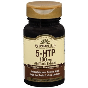 Buy Windmill 5-HTP 100 MG online used to treat Depression and Mood Health - Medical Conditions