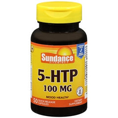 Buy Sundance Vitamins 5-HTP 100 MG online used to treat Depression and Mood Health - Medical Conditions