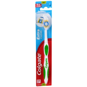 Buy Colgate Extra Clean Toothbrush, Full Head, Medium online used to treat Oral Care Products - Medical Conditions