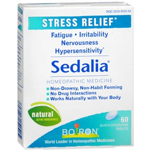 Buy Boiron Sedalia Stress Relief Tablets online used to treat Stress Relief - Medical Conditions