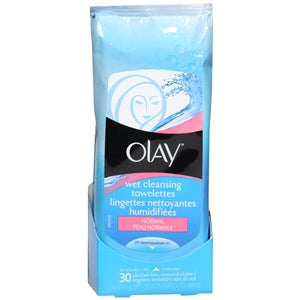 Buy Olay Wet Facial Cleansing Cloths for Normal Skin online used to treat Cleansing Towelette - Medical Conditions