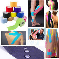 Buy Mueller Kinesiology Tape, Pre-Cut Strips, Roll, Pink online used to treat Pain Management - Medical Conditions