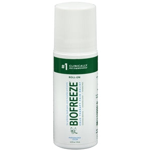 Biofreeze Pain Relieving Roll On, 2.5 oz.