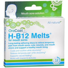 Buy OraCoat H-B12 Melts online used to treat Mouth - Medical Conditions