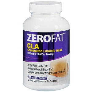 Zerofat Cla Conjugated Linoleic Acid Softgels Weight Loss