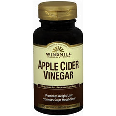 Buy Windmill Apple Cider Vinegar Capsules, 100 ct online used to treat Weight Loss - Medical Conditions
