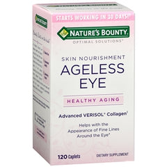 Buy Nature's Bounty Ageless Eye, Advanced Verisol Collagen online used to treat Eye Vitamins - Medical Conditions