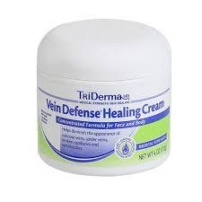 Buy TriDerma Vein Defense Healing Cream, 4 oz. Jar online used to treat Aging - Medical Conditions