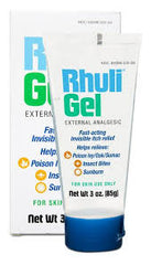 Buy Rhuli Gel External Analgesic, 3 oz Tube online used to treat Itch Relief Cream - Medical Conditions