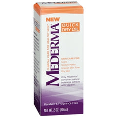 Mederma Skin Treatment Oil for Scars, Stretch Mark, Dry Skin Quick Dry Formula
