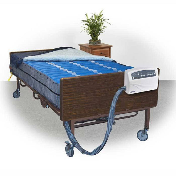 Bariatric Alternating Pressure System with Low Air Loss Mattress
