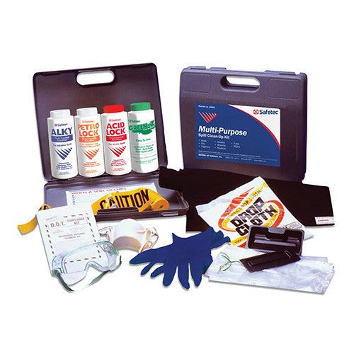 Multi Purpose Hazardous Spill Clean Up Kit - Spill Cleanup Kit - Mountainside Medical Equipment