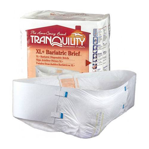 Tranquility Bariatric Adult Diaper 32/Case - Incontinence - Mountainside Medical Equipment