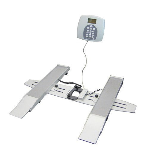 Buy Health O Meter Plus Portable Wheelchair Scale online used to treat Scales - Medical Conditions