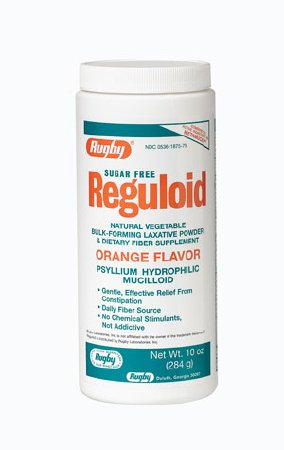 Buy Sugar Free Reguloid, Orange Flavor, 10 oz. online used to treat Laxatives - Medical Conditions