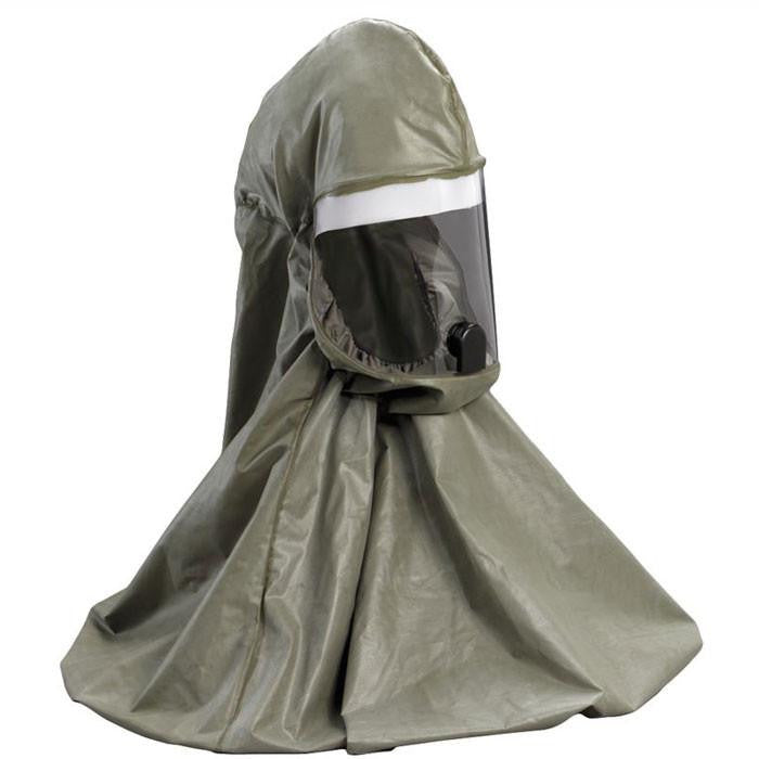 Buy 3M Breathe Easy Powered Air Purifying Respirator Hood Only, Army Green online used to treat Breathe Easy Turbo Powered Air Purifying Respirator - Medical Conditions