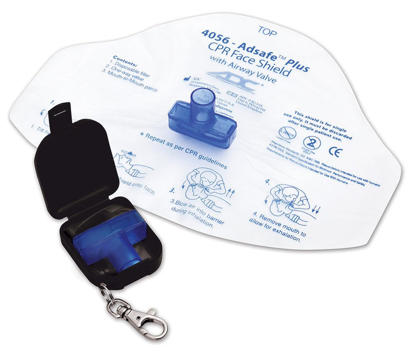 CPR Face Shield with Airway Shield Keychain