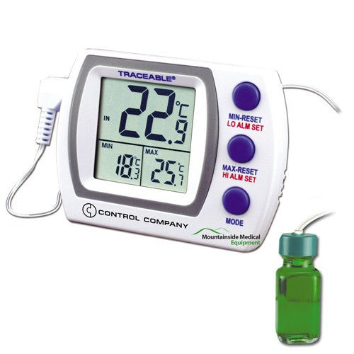 Buy Traceable Refrigerator/Freezer Plus Thermometer 4227 by Control Company | SDVOSB - Mountainside Medical Equipment