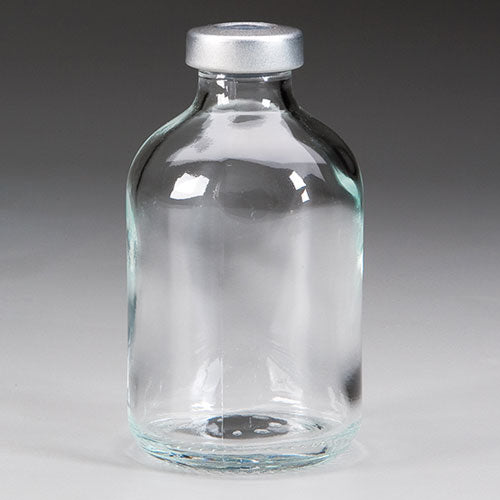 BOTTLE 3 INCHES TALL NO LID 50 ML GLASS VIAL