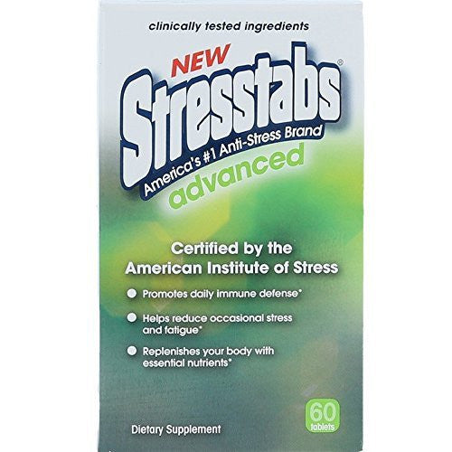 Buy Stresstabs Advanced 60 Tablets by Bayer Healthcare | SDVOSB - Mountainside Medical Equipment