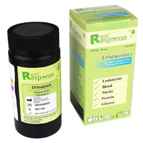 5 SG Urine Reagent Strips for Urinalysis
