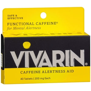Buy Vivarin Caffeine Alertness Aid, 200 mg online used to treat Alertness Aid - Medical Conditions