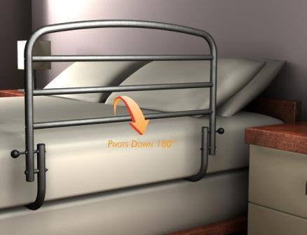 Buy Safety Bed Rail 30 inch online used to treat Fall Prevention - Medical Conditions