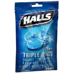 Buy Halls Cough Drops, Ice Blue online used to treat Cough Drops - Medical Conditions