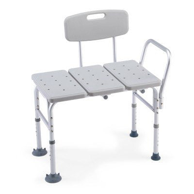 Invacare CareGuard Bath Transfer Bench with Backrest 98071