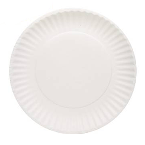 sc 1 st  Mountainside Medical & Biodegradable White Paper Plates 9\