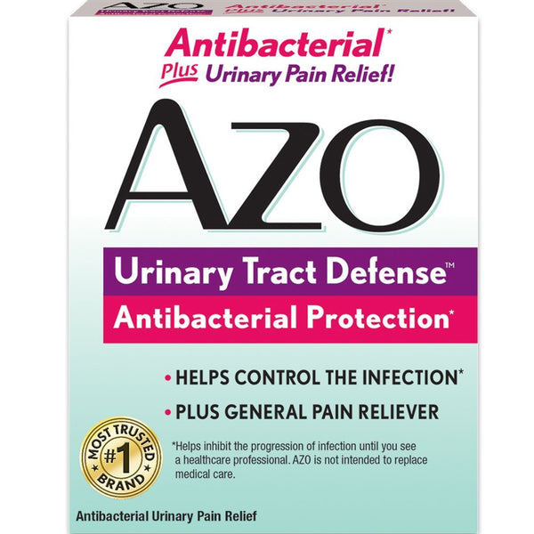 AZO Urinary Tract Defense with Antibacterial Protection, 24 Count