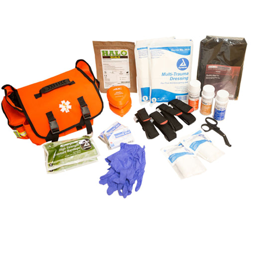 Emergency Trauma Response Stop the Bleed Kit - Trauma Response Supplies - Mountainside Medical Equipment