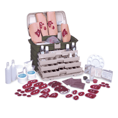 Buy Advanced Military Casualty Simulation Kit online used to treat Training Products - Medical Conditions