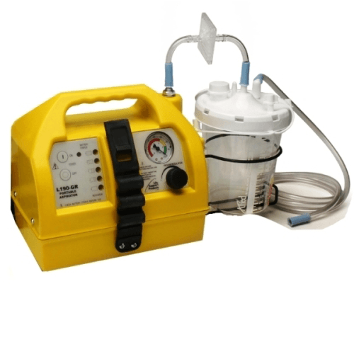 Advantage Emergency Portable Suction Unit with Rechargeable Battery - Portable Suction Machines - Mountainside Medical Equipment