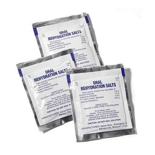 Oral Rehydration Salts, Replenish fluids fast